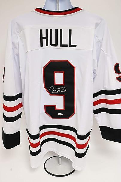 Bobby Hull Signed Autographed Chicago Blackhawks White Hockey ...