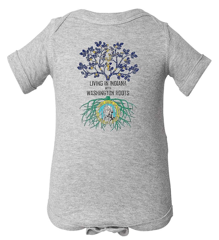 Tenacitee Babys Living in Indiana Washington Roots Shirt