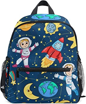 Kids Backpack Patchwork Children Preschool Kindergarten Bag Travel Bag