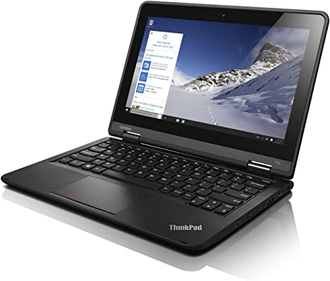 Lenovo ThinkPad Yoga 11E 11.6in Touch Screen PC with WebCam - Intel Celeron 1.6GHz 8GB 320GB HDD Windows 10 Professional (Renewed)