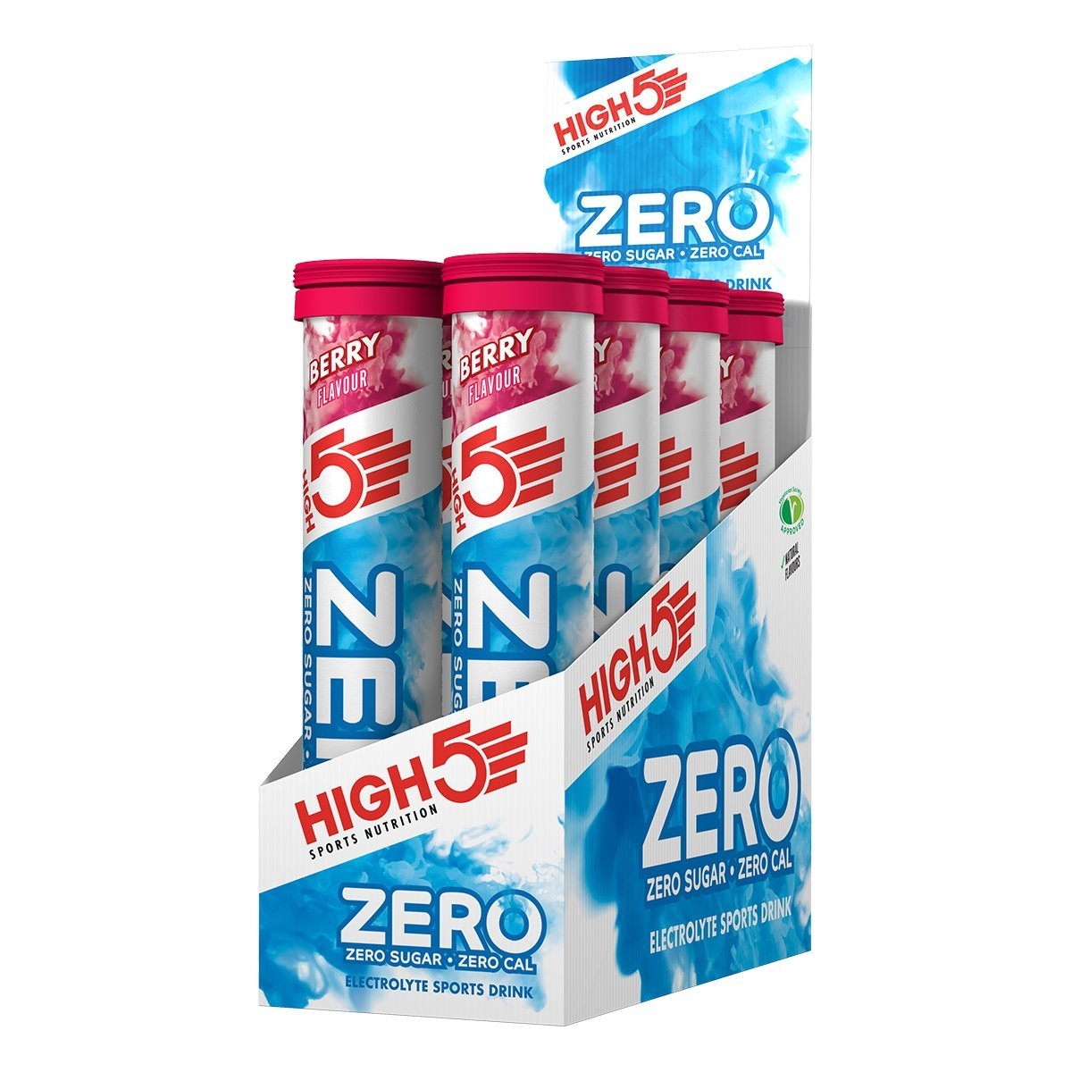 Amazon.com : HIGH5 Zero Active Hydration Drink Tabs - 8 x 20 Tablet Tube, Berry : Grocery & Gourmet Food