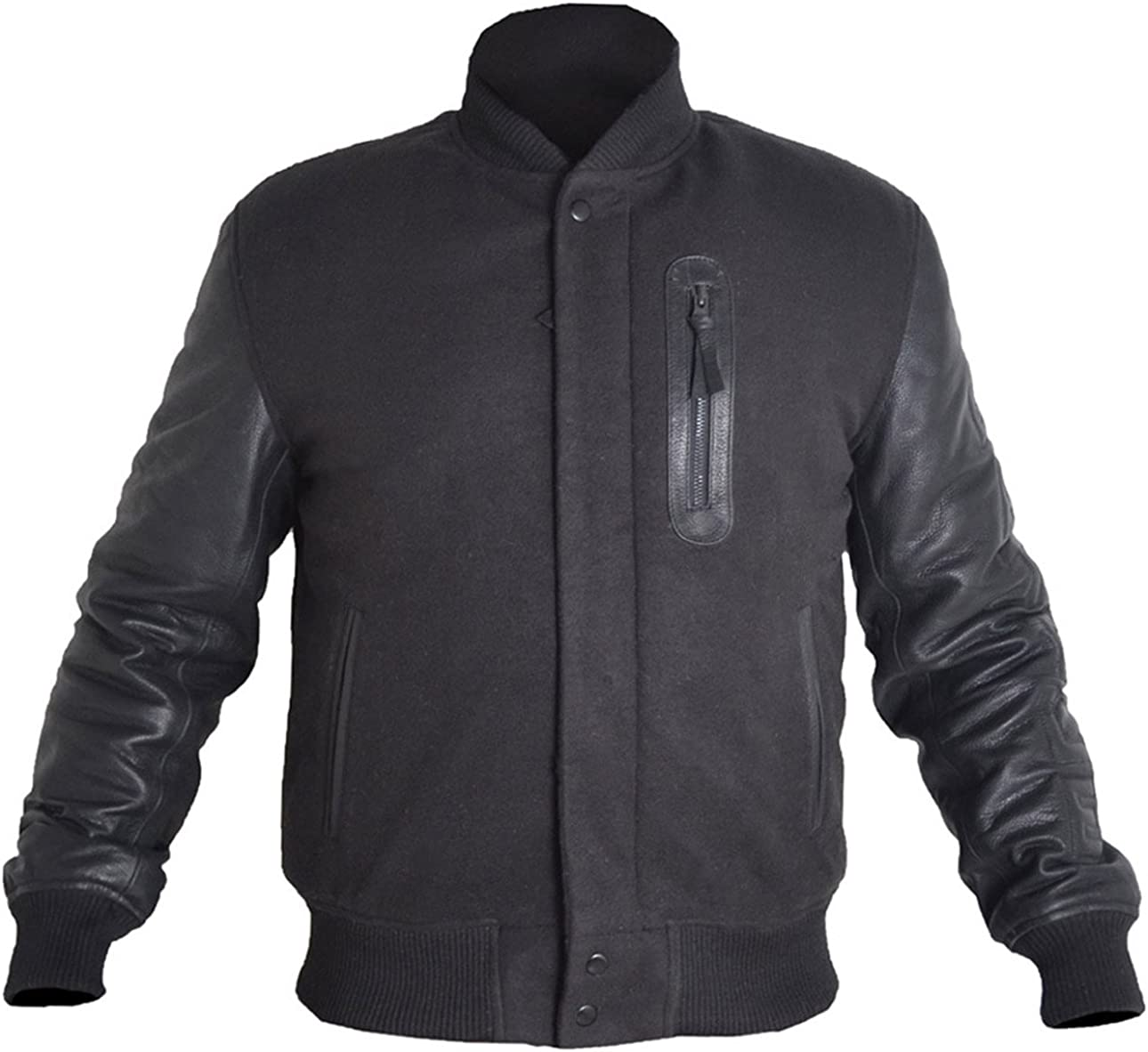 MSHC Western Cowboy Mens Fringed Suede Leather Jacket D14 V3 XXS-5XL Blue