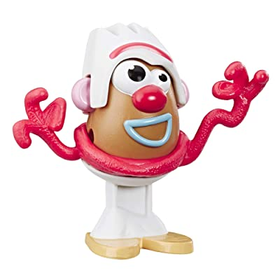 Mr Potato Head Disney/Pixar Toy Story 4 Forky Mini Figure Toy for Kids Ages 2 & Up: Toys & Games