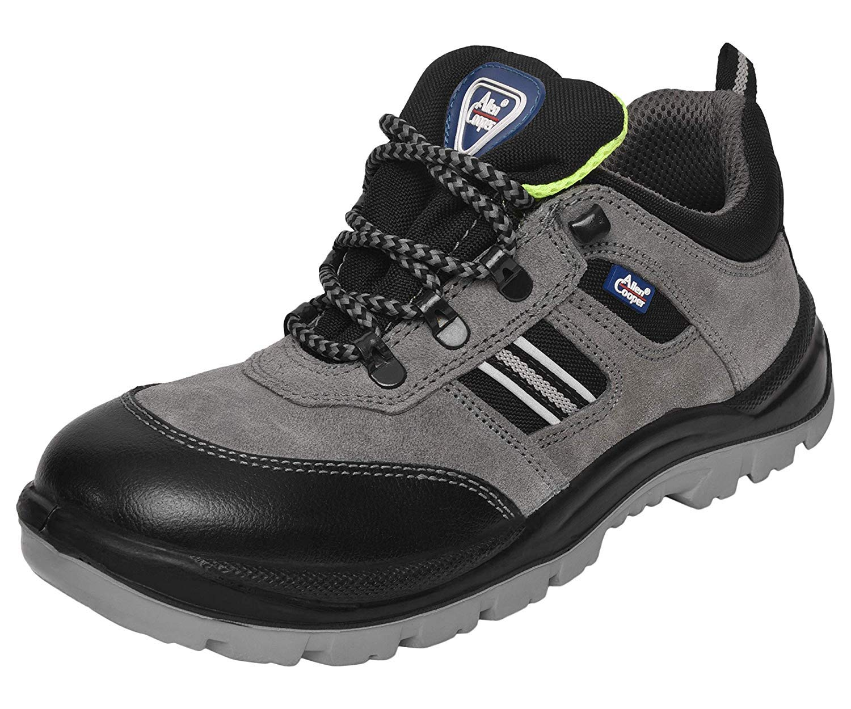 Allen Cooper 1156 Men's Safety Shoe, Size-8 UK, Grey product image