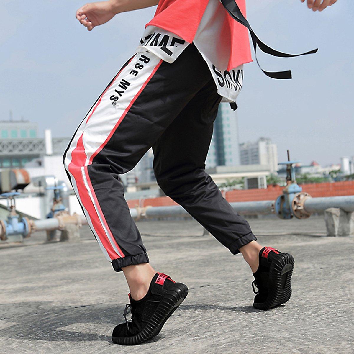 CHNHIRA Arbeitsschuhe Herren Stahlkappe Sicherheitsschuhe Leicht Sportlich und Atmungsaktiv Schutzschuhe Turnschuhe Damen Unisex