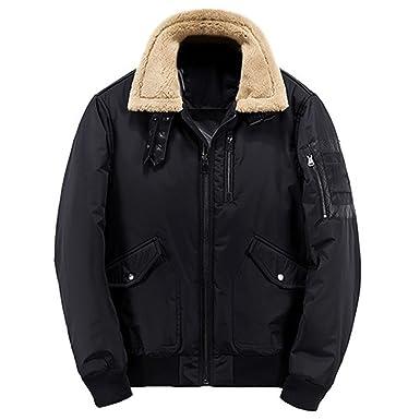 Olive Tayl New Bomber Jacket Men Zipper Pocket Windproof Fleece