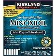 6 Months Kirkland Minoxidil 5% Extra Strength Hair Loss Regrowth Treatment Men