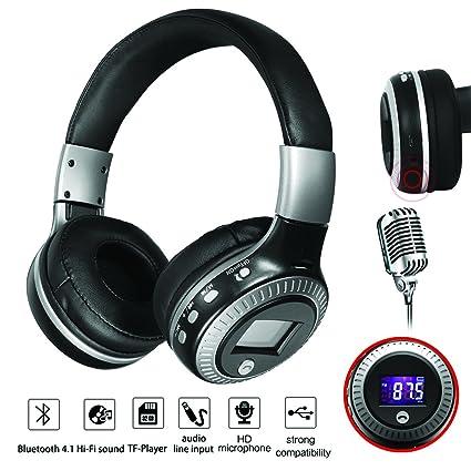 Diseño portátil Multi 6 características músico auriculares HD sonido Bass Clear música Record Home Studio tibetano