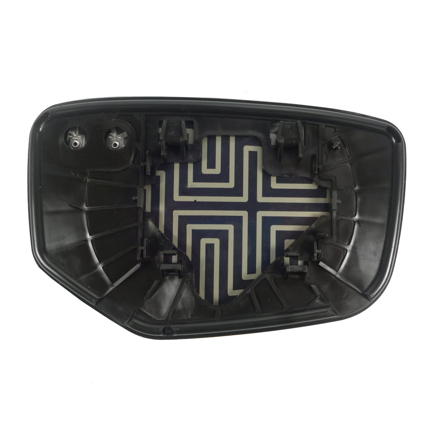 Fit System 33215 Honda Accord Left Side Heated Power Replacement Mirror Glass with Backing Plate