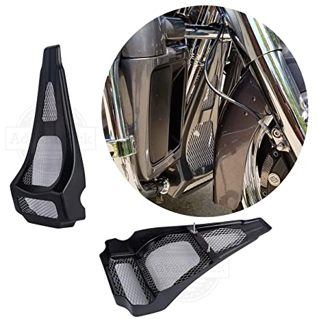 Fiberglass Stretched Chin Spoiler Fit For Harley Touring Street Glide 1997-2013