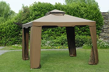 Sunjoy Replacement Canopy Set for 10x10ft Avalon Gazebo & Amazon.com: Sunjoy Replacement Canopy Set for 10x10ft Avalon ...