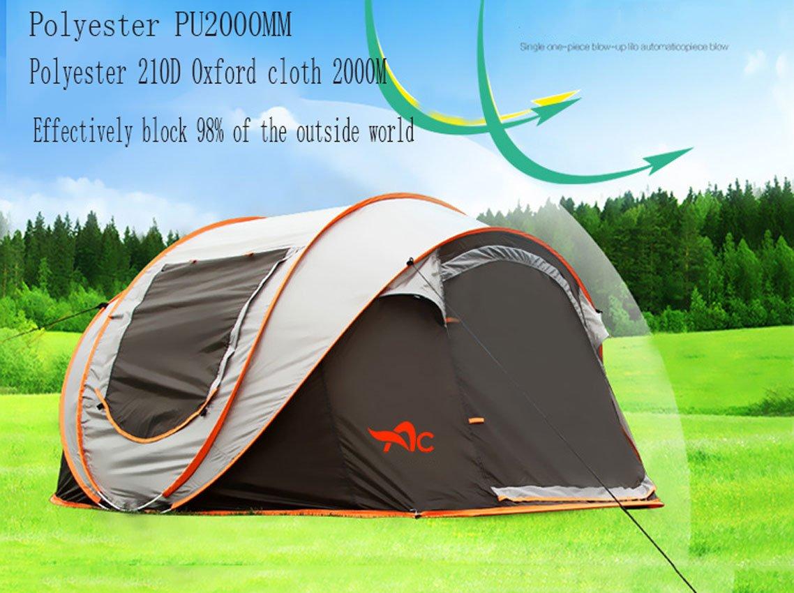 GXWFUI Outdoor Leichtes Camping Zelt Zelt Zelt Kuppelzelt Für 5-8 Personen Wasserdicht Automatischzelt B07FP9FP7G Zelte Liebessport, wirklich glücklich f7d680