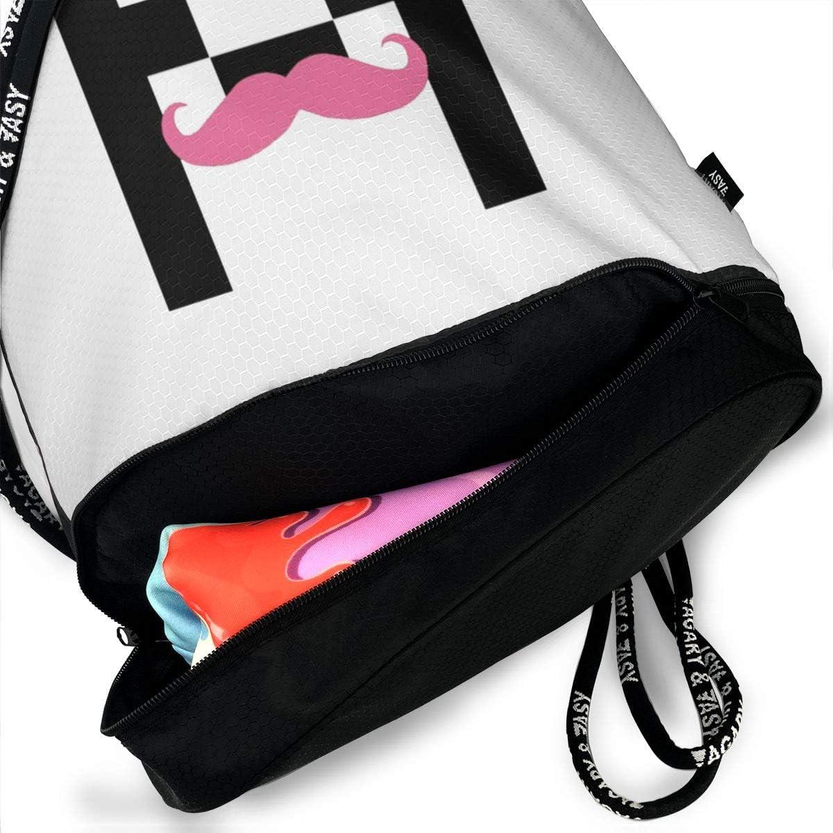 DIDhsswuz Markiplier Unisex Drawstring Backpack Drawstring Bag Bundle Backpack Yoga Bag