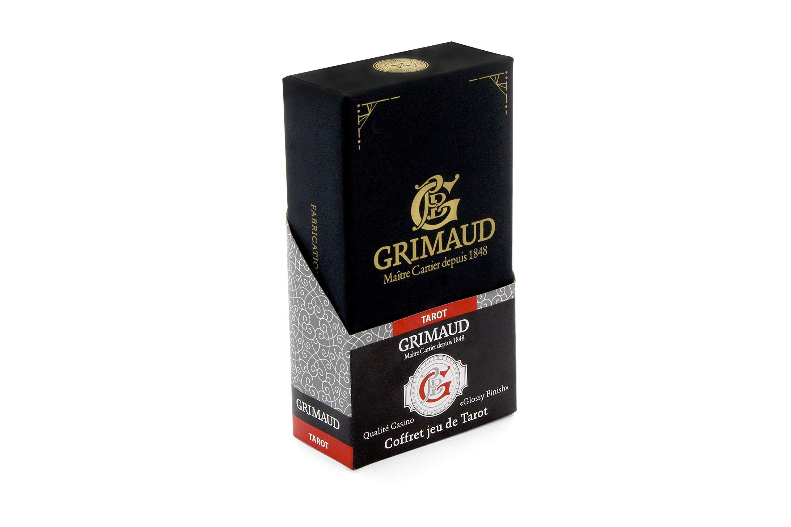 Grimaud Expert 130007958 Tarot Card Box Black by Grimaud