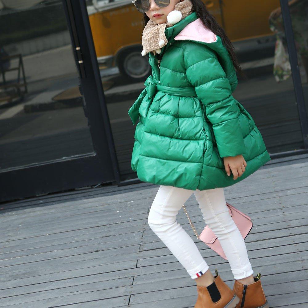 Pelliccia Gtqbyb Cappuccio Invernale Bambina Giubbotto Bimba pqpwAg0S