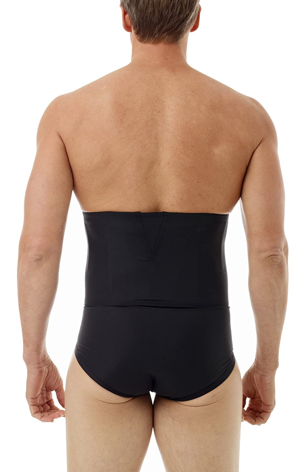 8f74364fe2 Underworks Zip-N-Trim Support Brief Girdle for Men with 8-inch Powerband -  for Tummy Trimming
