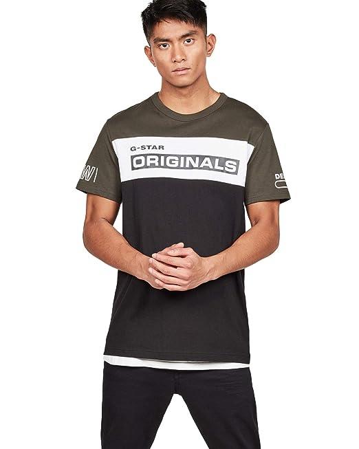 G-Star D13404 336 SWANDO Block Camisetas Y Camisa DE Tirantes Hombre: Amazon.es: Ropa y accesorios