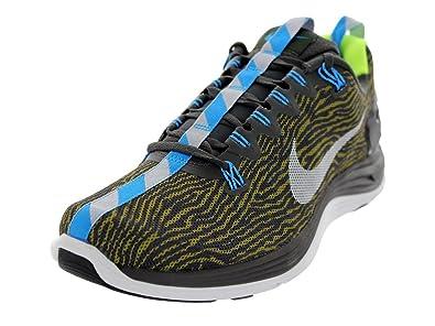 Men's/Women's Nike Lunarglide 5 Ext Prm Running Shoe Prcht Gld/Dsty Gry/Nwsprnt/Vlt 201420152016