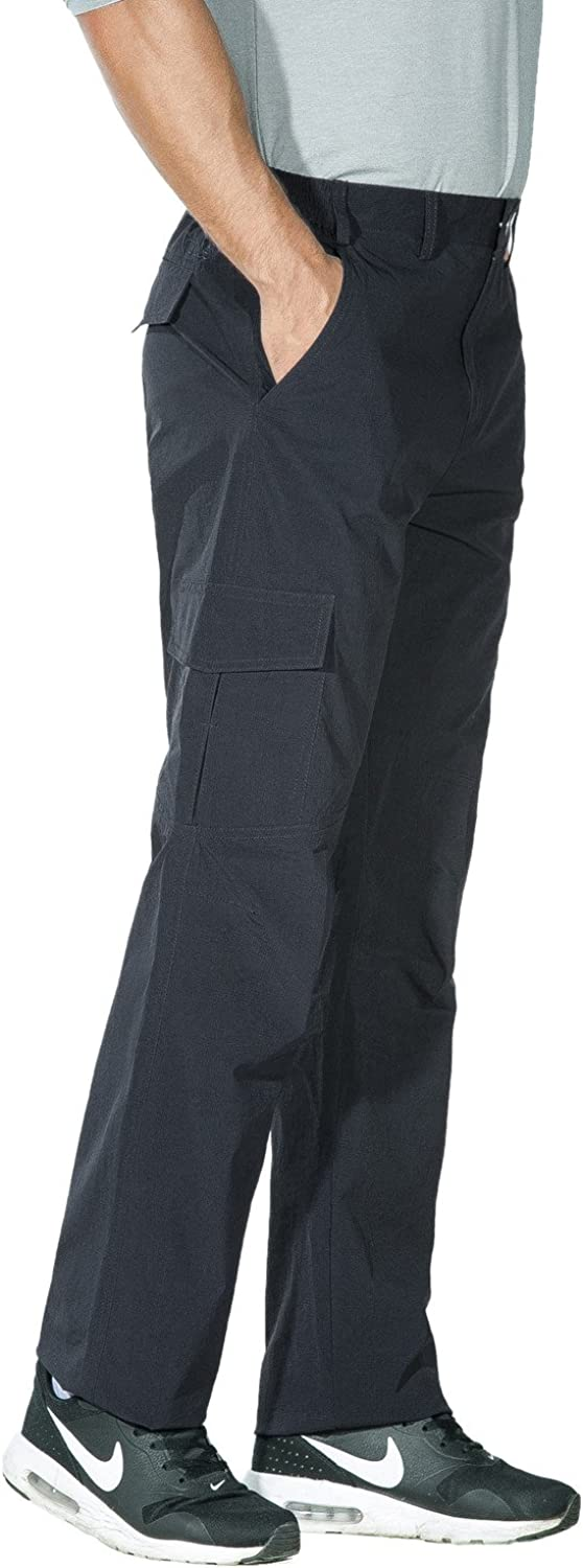 Nonwe Mens Outdoor Quick Dry Water-Resistant Breathable Cargo Pants