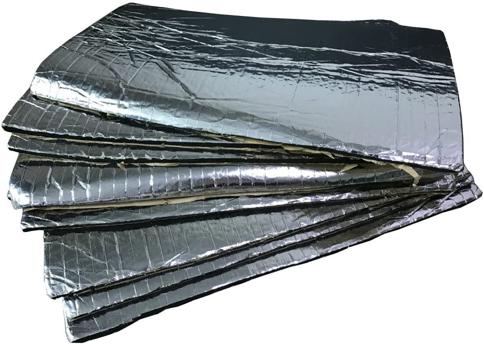 New 12 Sheets Car//Van Sound Proofing Deadening Insulation 5mm Closed Cell Foam