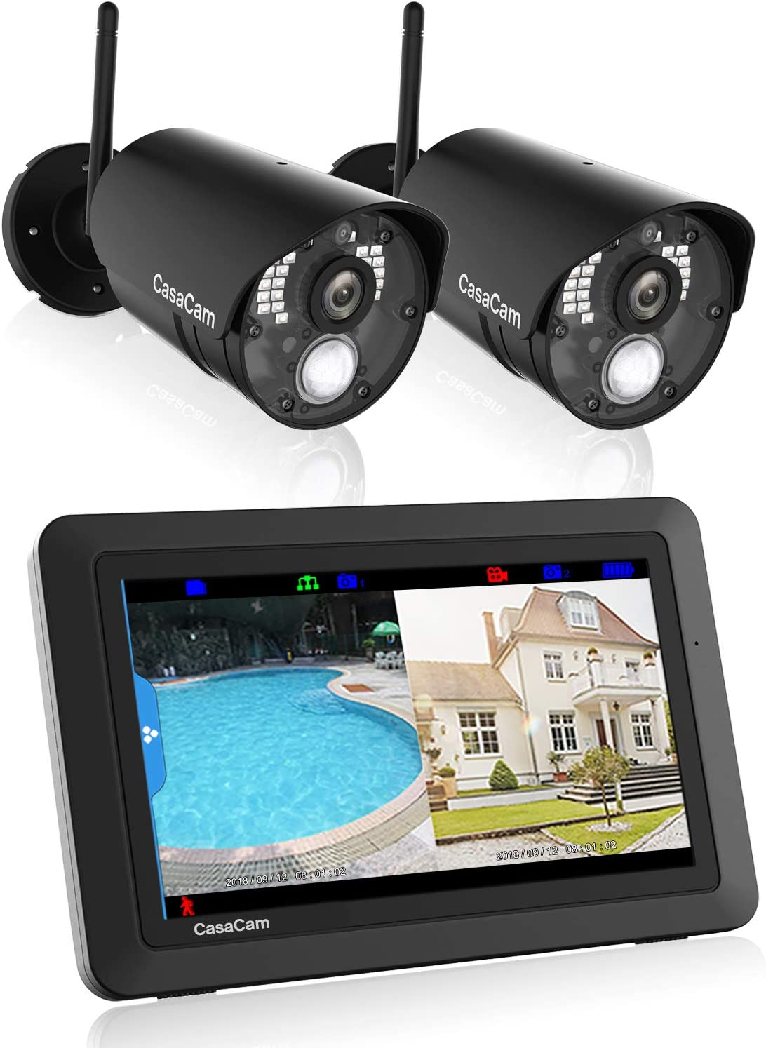 best outdoor wireless security camera system with nvr