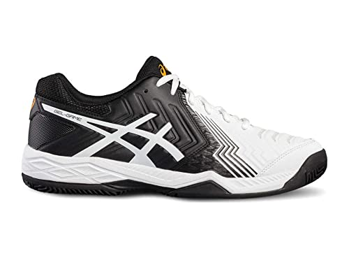 ASICS GEL GAME 6 CLAY NEGRO BLANCO E706Y 0190