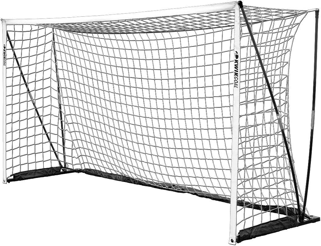 Kwik Goal LTD Flex Goal、ホワイト、6.5 ' X