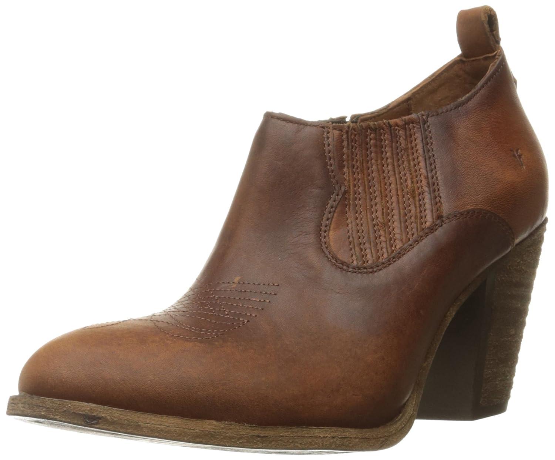Cognac Frye Womens Ilana Shootie Boot