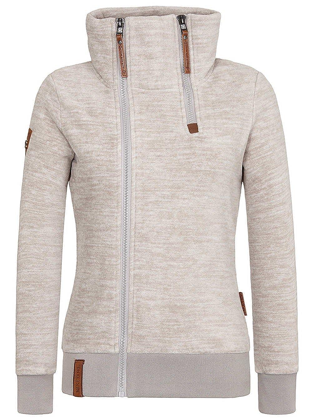 Naketano Women's Zipped Jacket Hamza Bau MA J iii