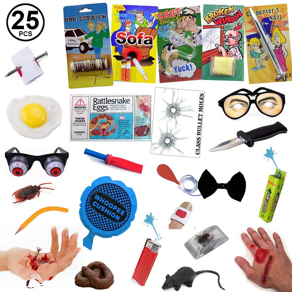 Tigerdoe Prank Kit - Prankster Gifts - Practical Joke Set - Jokes and Gags - 25 PC Prank Pack by Tigerdoe (Image #1)