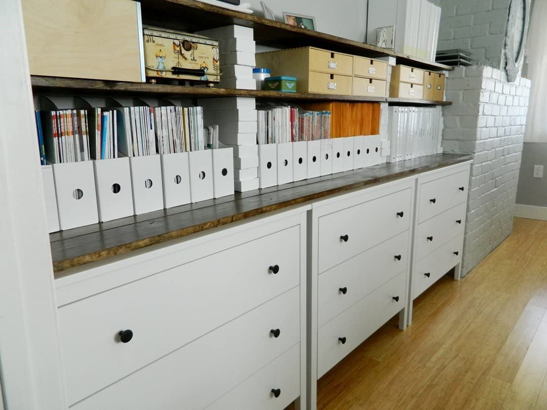 (20) - Royal 20 White Magazine File Holders Storage Boxes 31cm H x 8.9cm W x 25cm D