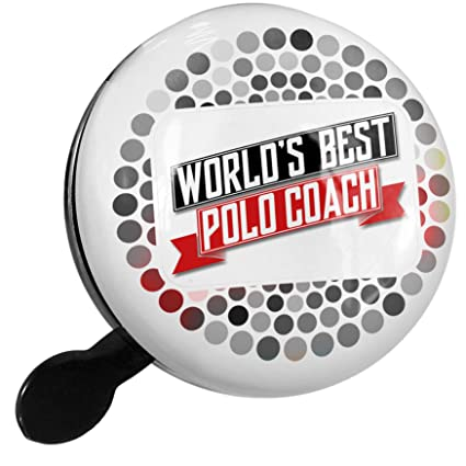 Amazon.com : NEONBLOND Bike Bell Worlds Best Polo Coach ...