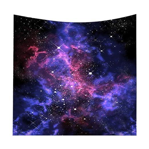 Tapiz Cielo Estrellado Galaxia Tapices Colgar en la Pared ...