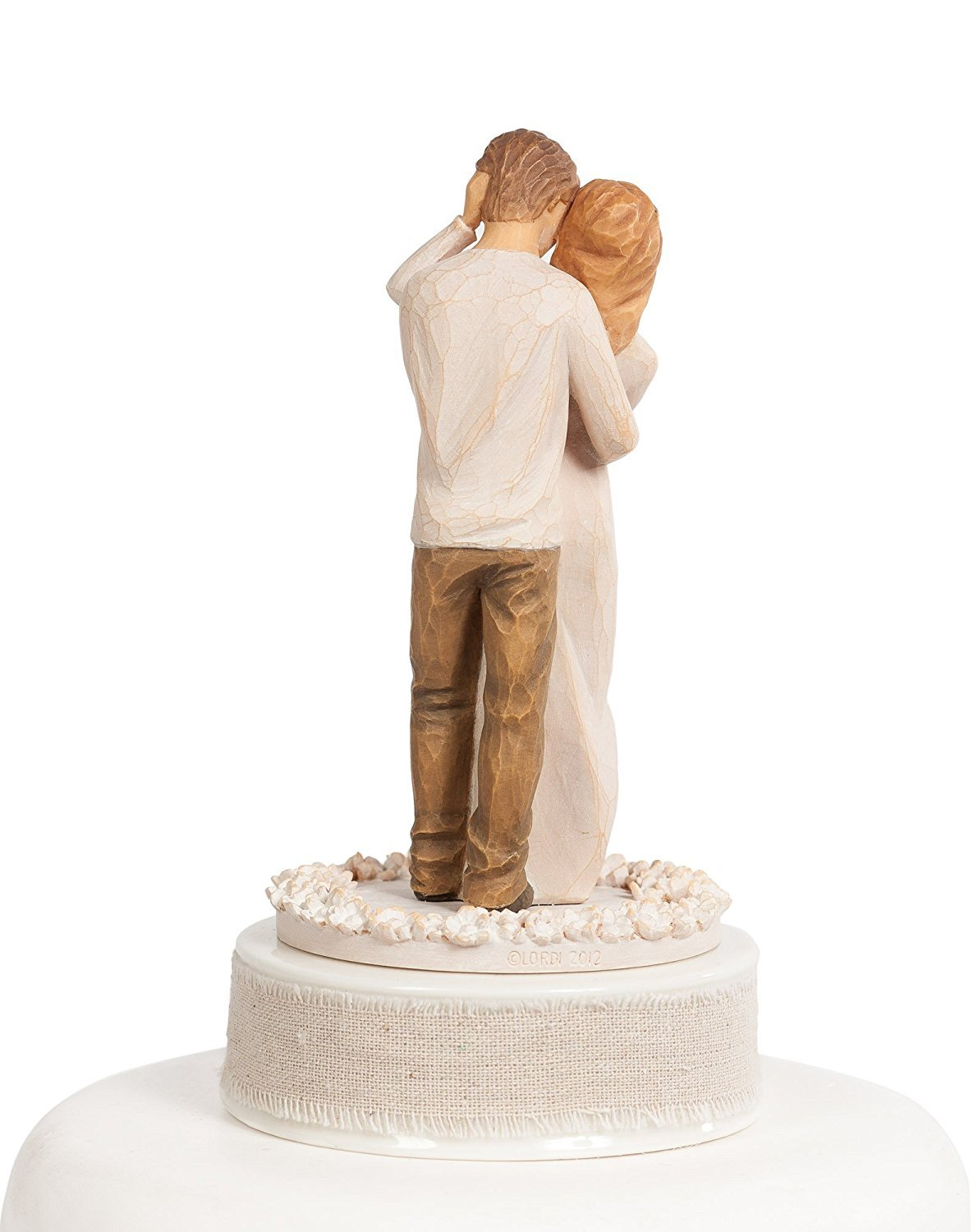 Personalized Willow Tree ''Together'' Wedding Cake Topper ... by DEMDACO - Home (Image #4)