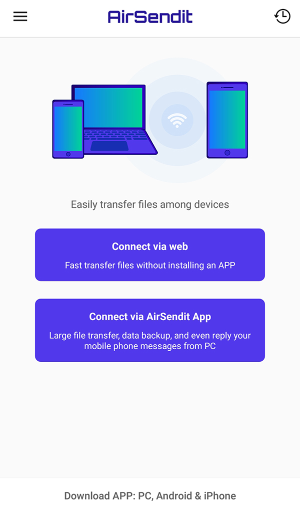Amazon com: AirSendit-Share files between mobile phone and PC