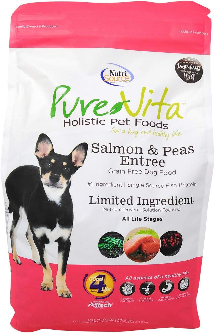 PureVita GF Salmon and Pea Food for Dogs 5 Lb