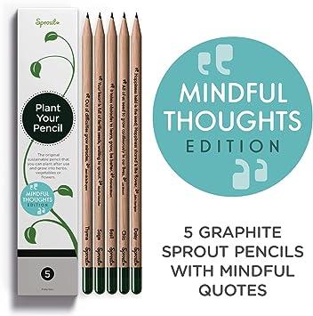 Amazon.com: Lápices de sprout – con citas de grafito ...