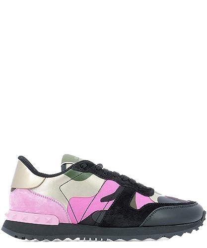 Valentino Mujer Rw2s0291gyecf7 Cuero Zapatillas