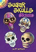 Sugar Skulls Stickers (Dover Little Activity