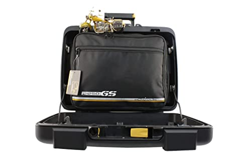 made4bikers Promotion: Bolsas Interiores Adecuado para de los Modelos BMW R1250GS R1250 GS K50 a Partir de 2018 - Conjunto Completo