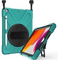 ProCase iPad 10.2 Case 2020 8th Gen / 2019 7th Gen iPad Case, Rugged Heavy Duty Shockproof 360 Degree Rotatable…