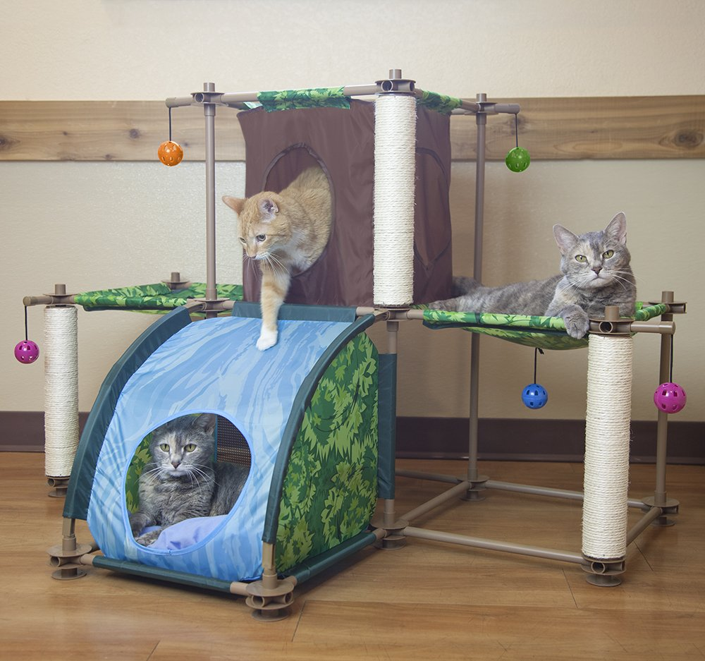 Kitty City Rainforest Tropical Getaway Cat Furniture, Cat Toy & Cat Bed by Kitty City (Image #3)