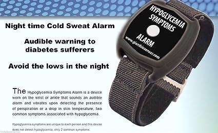 Giant Biosensor Hipoglucemia Alarma Reloj