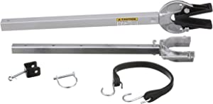 "attwood Corporation SP-400-RB 23""-35"" Composite Head Transom Saver with Roller and Bolt Bracket"