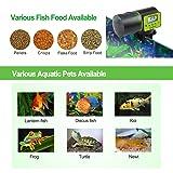 Torlam Auto Fish Feeder, Moisture-Proof Electric