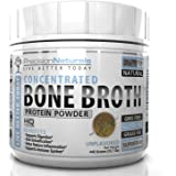 Bone Broth Protein Powder - Certified Paleo Friendly - Natural NON GMO Grass Fed Beef - Gluten Free Unflavored Ancient Form of Nutrition Made Modern 450g/15.87oz 20 Servings. Premium Collagen Peptides