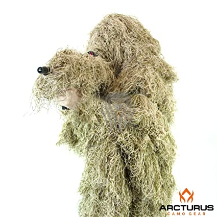 e0eead7d43f32 Arcturus Ghost Ghillie Suit - The Ultimate in Hunting Camouflage with a  High-Density