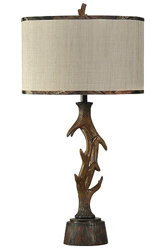 Amazon.com: Mossy SC-MO38587C Dalton - Lámpara de mesa ...