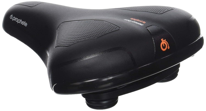 Selle Royal 6145 ATB-/Trekking - Sillín para bicicleta todoterreno con asiento de gel y muelles de compresión, color negro