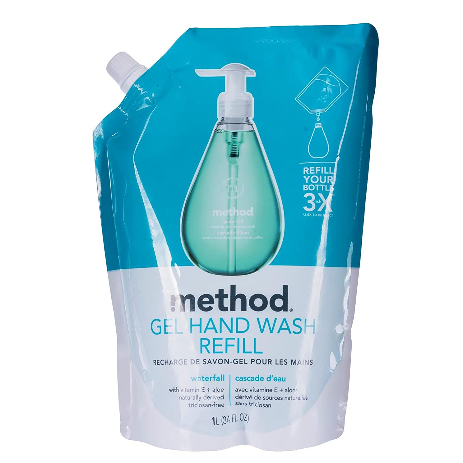 Method hand wash go naked